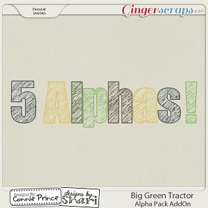 Retiring Soon - Big Green Tractor - Alpha Pack AddOn