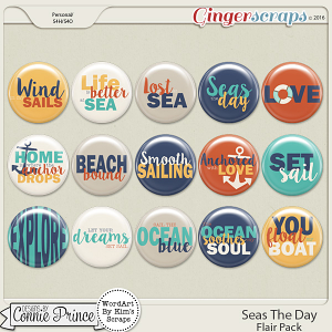 Seas The Day - Flair Pack