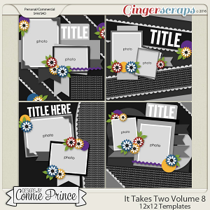 It Takes Two Volume 8 - 12x12 Temps (CU Ok)