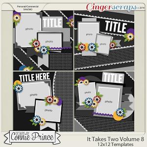 It Takes Two Volume 8 - 12x12 Temps (CU Ok)