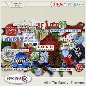 All In The Family - Elements by Aprilisa Designs