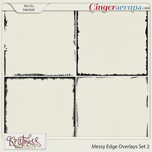 CU Messy Edge Overlays Set 2