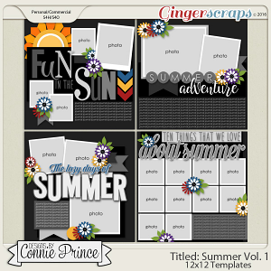 Titled Summer Volume 1 - 12x12 Temps (CU Ok)