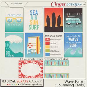 Wave Patrol (journaling cards)