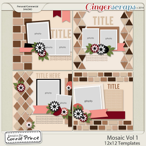 Retiring Soon - Mosaic Volume 1 - 12x12 Temps (CU Ok)