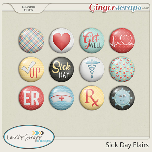 Sick Day Flairs