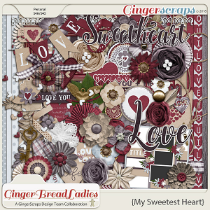 GingerBread Ladies Collab: My Sweetest Heart