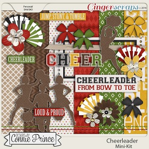 Football Fan Cheerleader - MiniKit