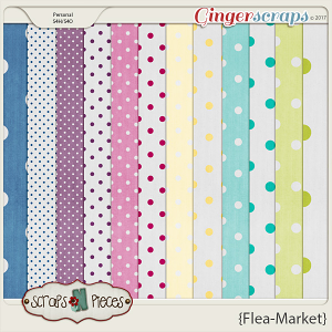 Flea Market dots by Scraps N Pieces