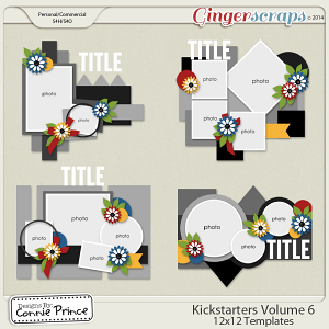 Retiring Soon - Kickstarters Volume 6 - 12x12 Temps (CU Ok)