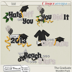 Retiring Soon - The Graduate - WordArt