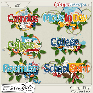 College Bound - Word Art