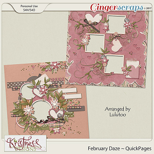 February Daze QuickPages