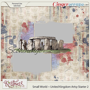 Small World ~ UK Artsy Starter 2