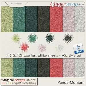 Panda-Monium! Glitter Pack