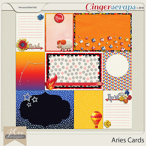 Aries Cards by JoCee Designs