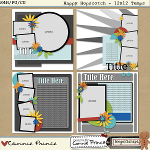Happy Hopscotch - 12x12 Temps (CU OK)