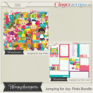 Jumping for Joy- Pinks Bundle
