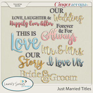 Just Married Titles