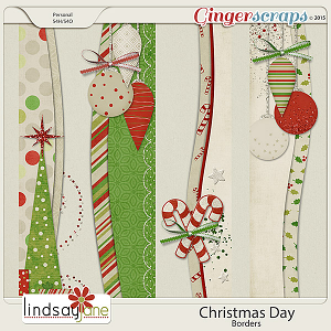 Christmas Day Borders by Lindsay Jane