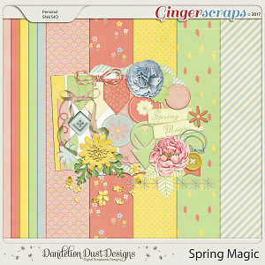 Spring Magic By Dandelion Dust Designs