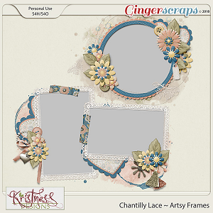 Chantilly Lace Artsy Frames