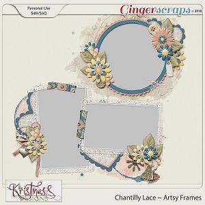 Chantilly Lace Artsy Frames