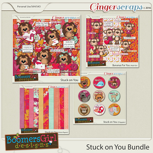 Stuck on You Bundle by BoomersGirl Designs