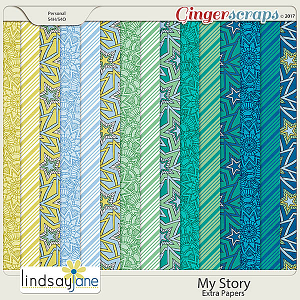 My Story Extra Papers by Lindsay Jane