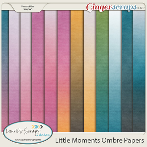 Little Moments Ombre Papers