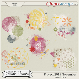 Project 2015 November - Inked Bits