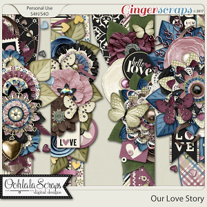 Our Love Story Page Borders