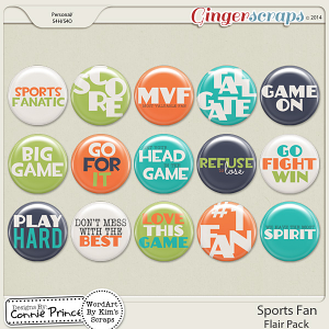 Sports Fan - Flair Pack