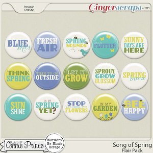Song Of Spring - Flair Pack