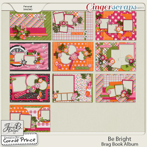 Be Bright - Brag Book Album