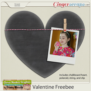 Valentine Freebee by Clever Monkey Graphics
