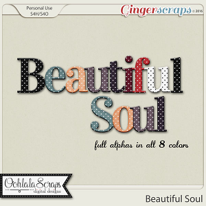 Beautiful Soul Alphabets