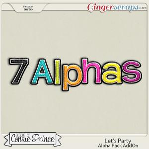Let's Party - Alpha Pack AddOn
