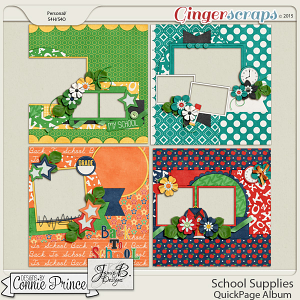 School Supplies - Quick Pages