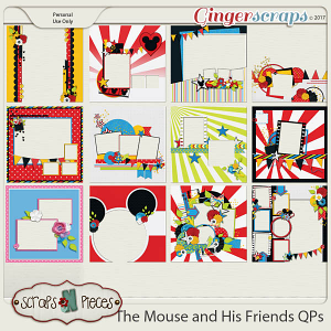 The Mouse and His Friends Quick Pages