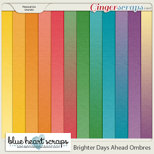 Brighter Days Ahead Ombre Paper Pack