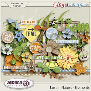 Lost In Nature - Elements by Aprilisa Designs