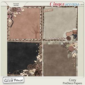 Cozy - PreDeco Papers