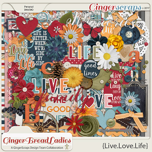 GingerBread Ladies Collab: Live.Love.Life