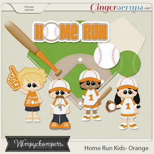 Home Run Kids- Orange