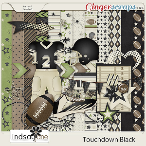 Touchdown Black by Lindsay Jane