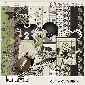 Touchdown Black by Lindsay Jane
