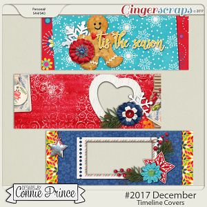 #2017 December - Facebook Timeline Covers by Connie Prince