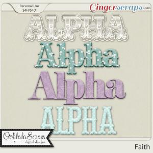 Faith Alphabets