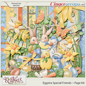 Eggstra Special Friends Page Kit